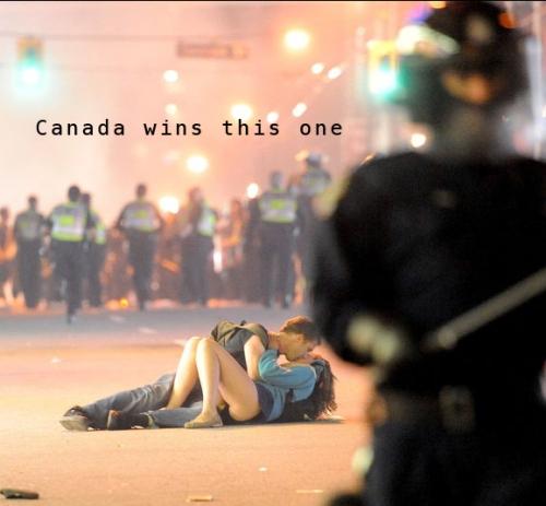 riaušės Kanadoje