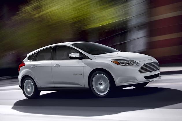 Ford Focus Elektromobilis