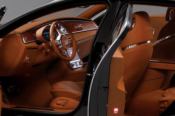 Bugatti Galibier interjeras