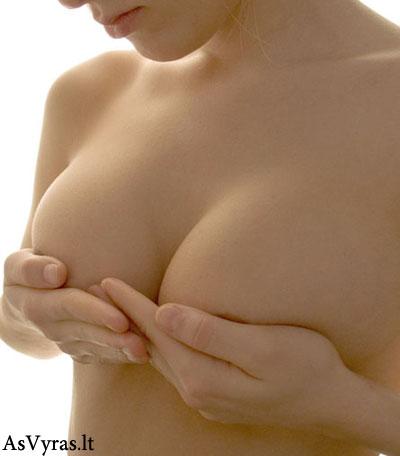 Normalios krūtys