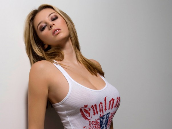 Seksuali moteris pickupas