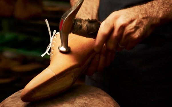 Rankų darbo vyriški batai
