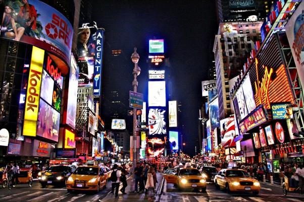 Times Square web kamera
