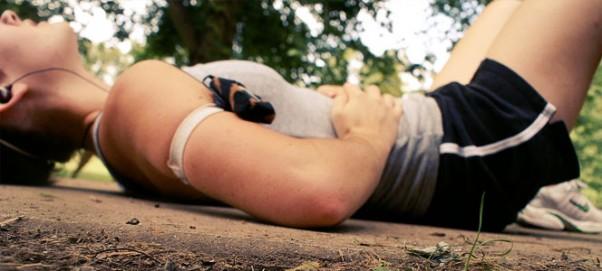 Bėgimo metu skauda šoną
