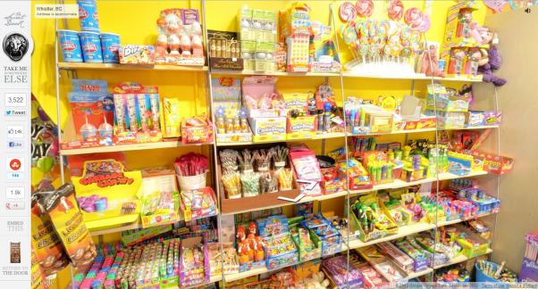 Saldainių parduotuvė