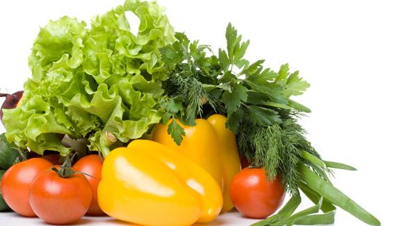Žalios daržovės prailgina gyvenimą