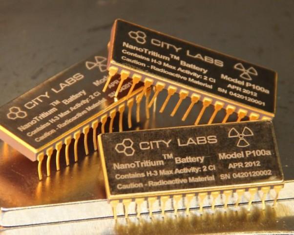 Nanotrium baterijos