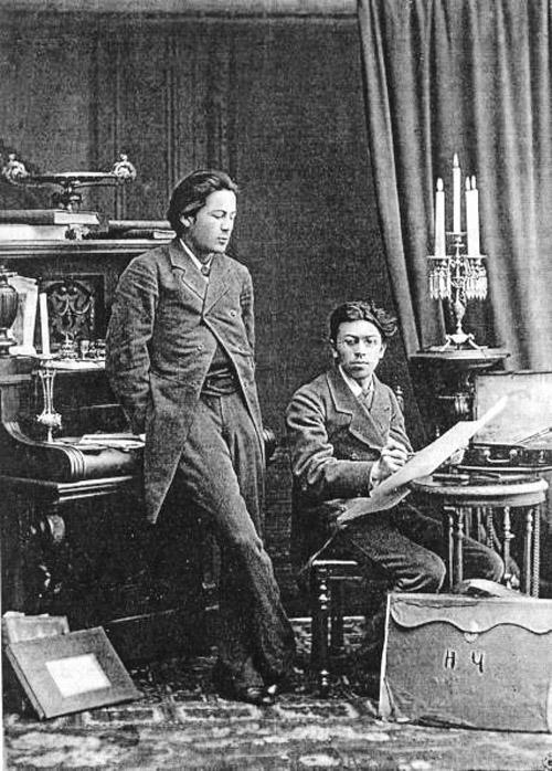 Antonas Čechovas ir jo brolis Nikolajus