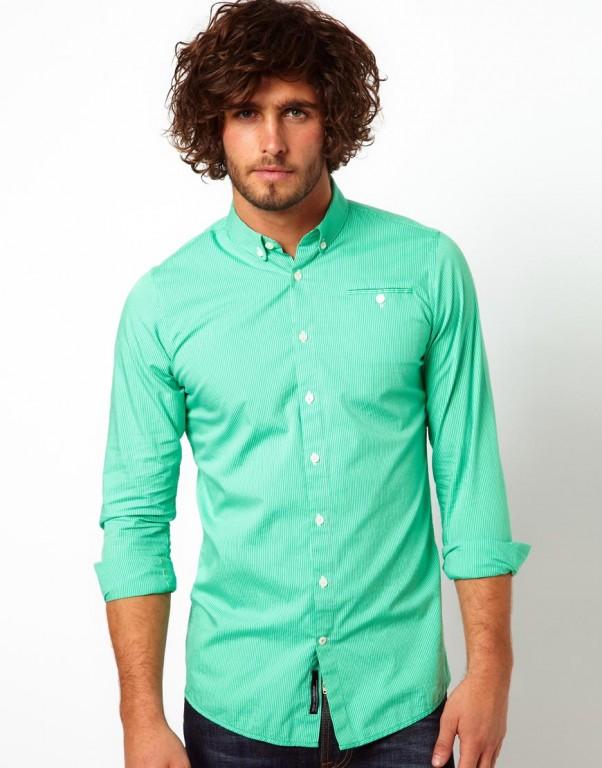 Vito Stripe vyriški marškiniai