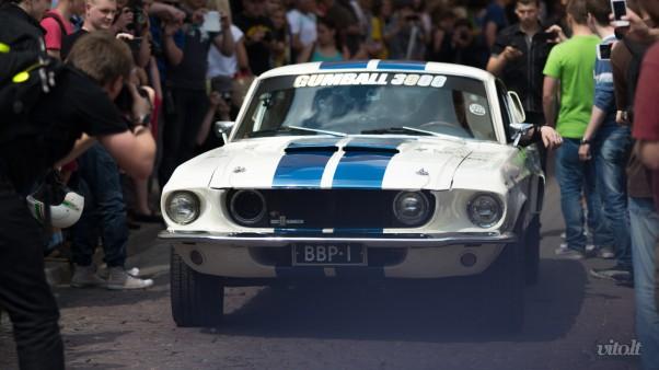 Gumball 3000 Vilnius: Ford Mustang 1969