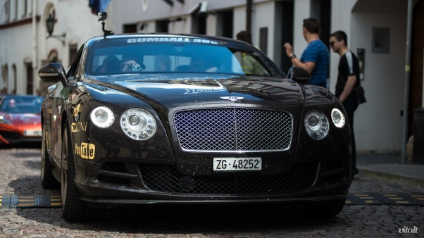 Gumball 3000 Vilnius: Bentley Continental GT