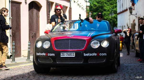 Gumball 3000 Vilnius: Bentley Continental GTC