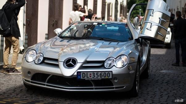 Gumball 3000 Vilnius: Mercedes Benz SLR McLaren