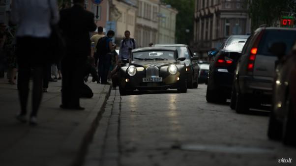 Gumball 3000 Vilnius: Morgan