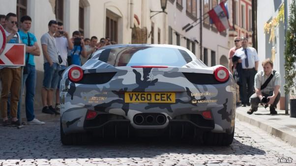 Gumball 3000 Vilnius: Ferrari 458 Italia