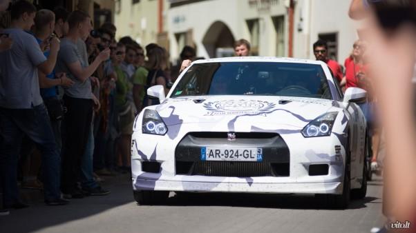 Gumball 3000 Vilnius: Nissan GTR