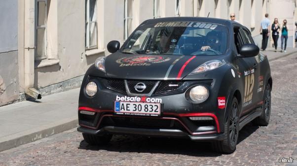 Gumball 3000 Vilnius: Nissan Juke Nismo
