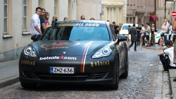 Gumball 3000 Vilnius: Porsche Panamera