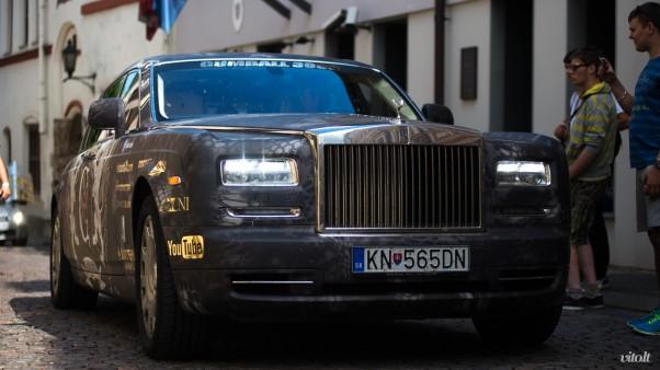Gumball 3000 Vilnius: Rolls Royce Phantom ir reperė Eve