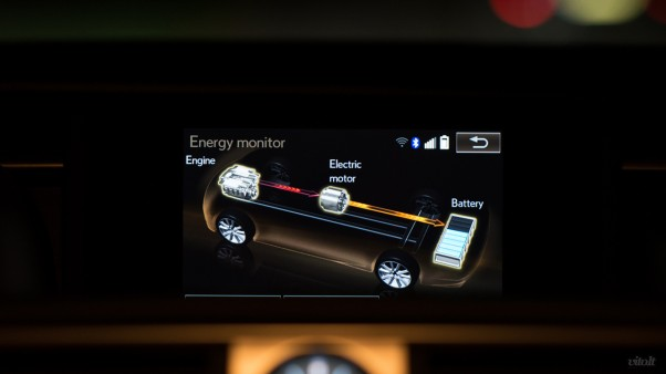 Lexus IS 300h automobilis: salonas