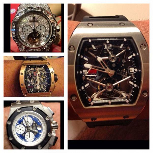 Dan Bilzerian laikrodžiai