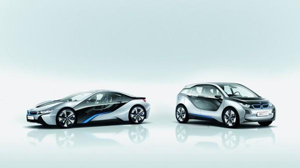 BMW i3 ir BMW i8