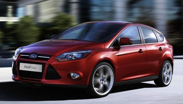 Seni džinsai naujame Ford Focus 2012 automobilyje