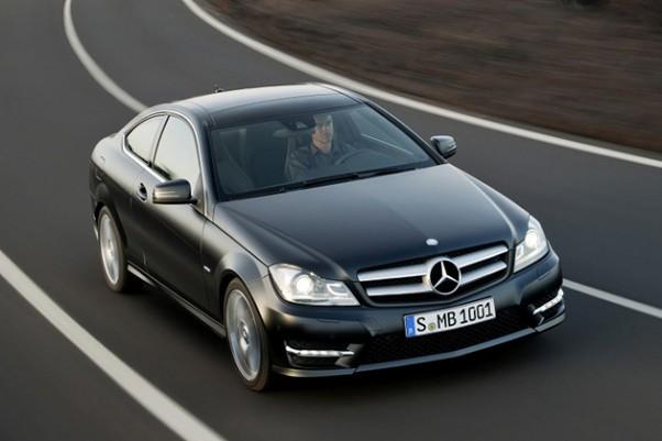 Pasirodė Mercedes Benz C-Class Coupe 2012