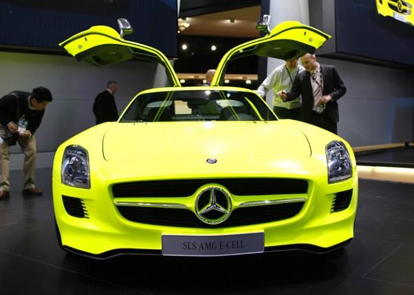 Automobilių paroda Detroide