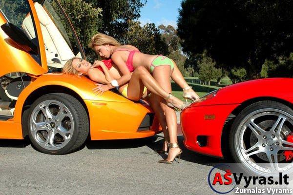 Merginos ir Mašinos
