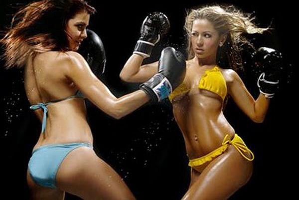 Moterų boksas gali būti seksualus