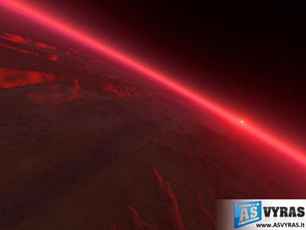 Marsas, kokio dar niekas nematė
