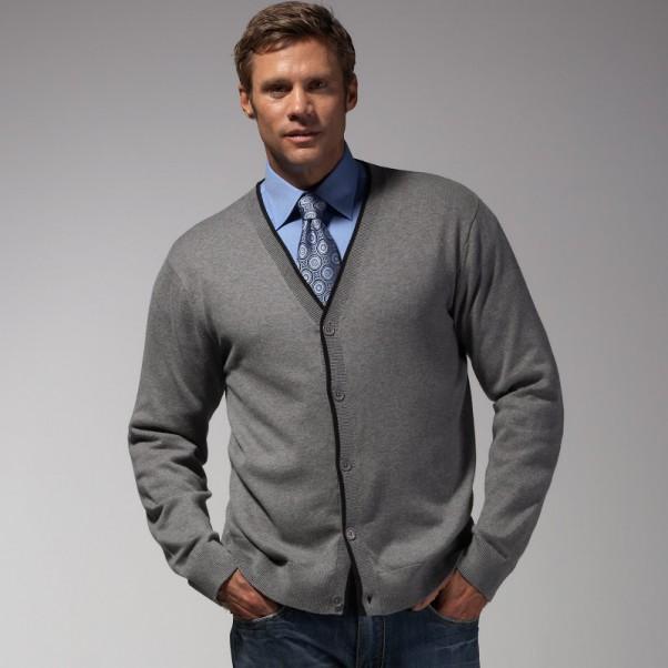 Vyriškas kardiganas - megztinis kiekvienai progai!